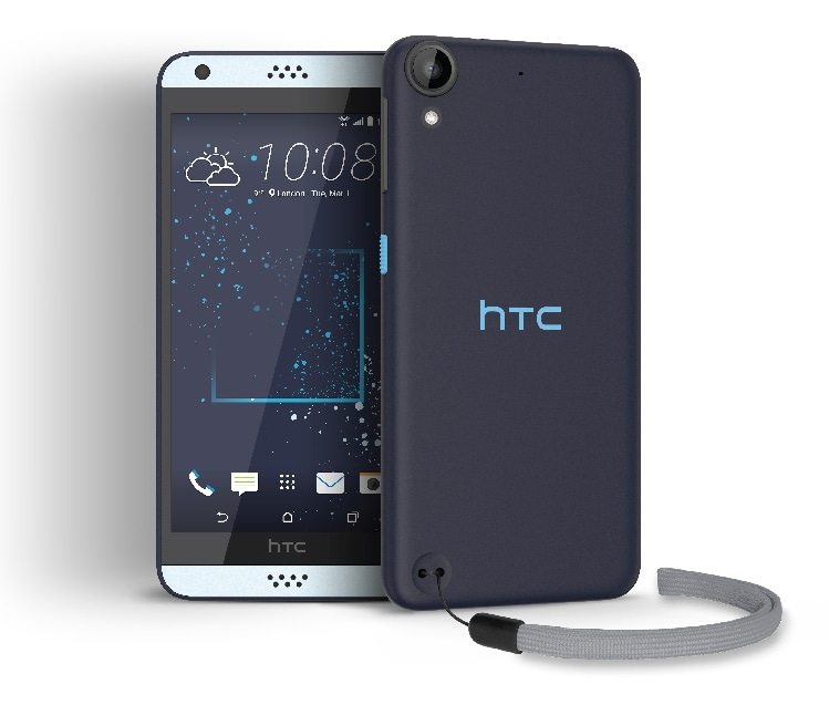 Celular Amigo Kit Telcel HTC Desire 530 Azul