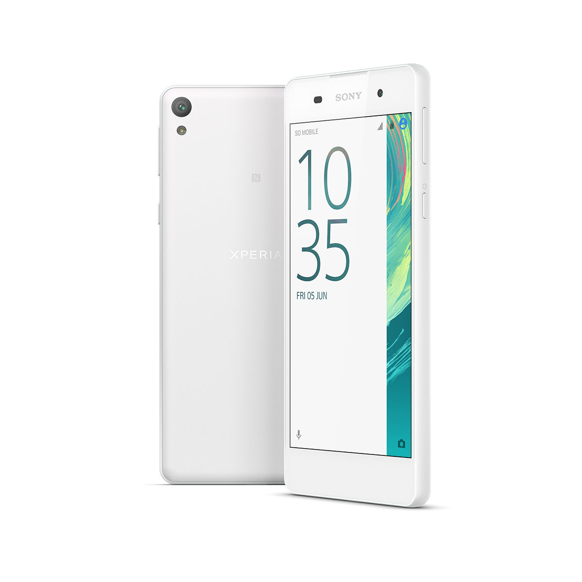 Celular Amigo Kit Telcel Sony Xperia E5 Blanco + Soporte Magnetico