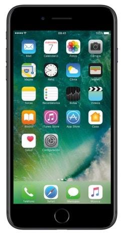 Celular Telcel Apple iPhone 7 Plus 128 GB Negro Color Negro